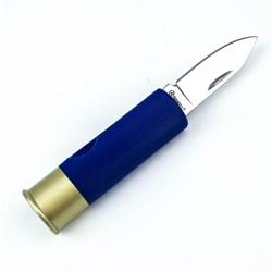 Нож складной туристический Ganzo G624M синий - фото 11222