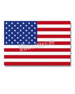 Флаг США малый с хранения - фото 13422