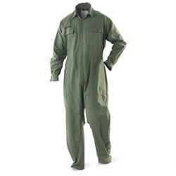 Комбинезон летный US Military Mechanics coverall олива новый - фото 13438