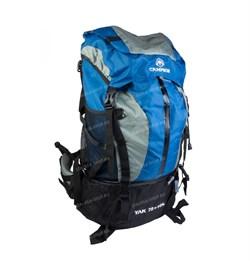 Рюкзак туристический Campsor YAK 75л+10л blue - фото 14063