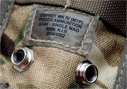 Подсумок под магазин L85/M4/M16/АК SA80 single mag MTP - фото 15039
