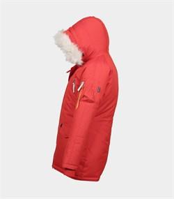 Куртка аляска женская Oxford Simple Red/White Grey - фото 16307