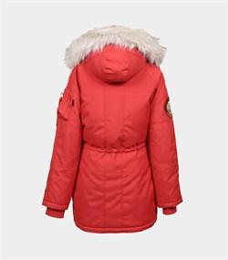 Куртка аляска женская Oxford Simple Red/White Grey - фото 16308