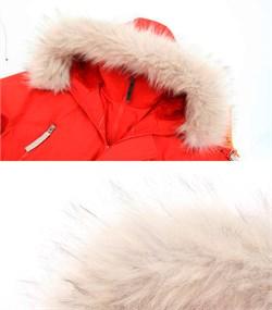 Куртка аляска женская Oxford Simple Red/White Grey - фото 16309