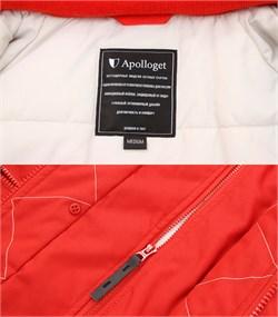 Куртка аляска женская Oxford Simple Red/White Grey - фото 16310