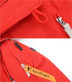 Куртка аляска женская Oxford Simple Red/White Grey - фото 16311