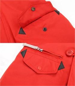 Куртка аляска женская Oxford Simple Red/White Grey - фото 16313