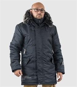 Куртка аляска Apolloget Arctic Steel Blue/Gun Metall - фото 18622