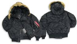 Куртка N-2B Flight Jacket Alpha Black - фото 5343