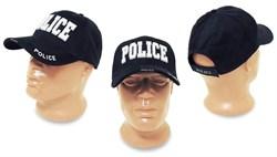 Кепка бейсболка Deluxe Police Navy - фото 5372