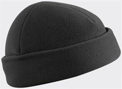Шапка флис Helikon черная - фото 7031