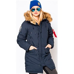 Куртка аляска женская Altitude W Parka Alpha Replica Blue - фото 8547