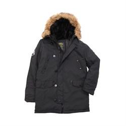 Куртка аляска Altitude Parka Alpha Black - фото 9126