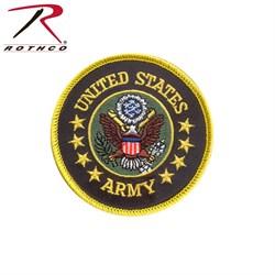 """Нашивка US Army Round 3"""" - фото 9246"""