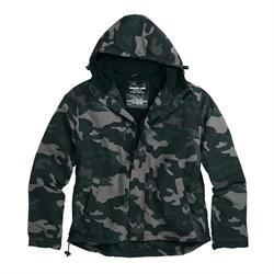 Куртка Windbreaker Zipper Black Camo