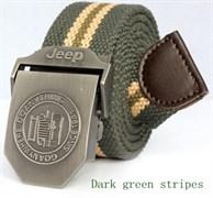 Ремень Jeep Green Tan