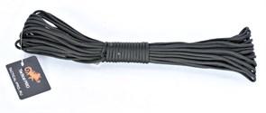 Шнур Paracord 7 core 15 метров black