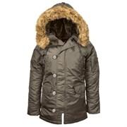 Куртка женская женская N-3B W Parka Replica Grey