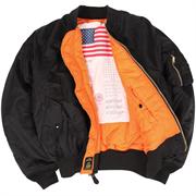 Куртка MA-1 Blood Chit Black