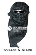 Арафатка Tactical Shemagh Foliage/Black