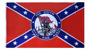 Флаг South will rise again