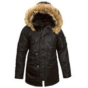 Куртка женская N-3B W Parka Black