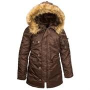 Куртка женская N-3B W Parka Cocoa