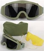 Очки-маска реплика ESS olive