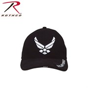 Кепка бейсболка Deluxe USAF Wing Black