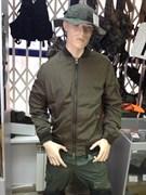 Куртка ветровка пилот Abercrombie H-900-1 olive
