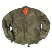 Куртка бомбер MA-1 олива