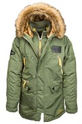 Куртка N-3B Inclement Parka Sage Green Alpha