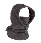 Балаклава-маска флисовая длинная grey