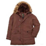Куртка аляска Altitude Parka Alpha Chestnut