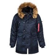 Куртка женская N-3B W Parka Replica Blue
