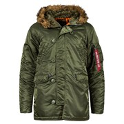 Куртка N-3B Parka Slim Fit Sage Alpha