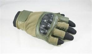 Перчатки Tac-Force без пальцев olive