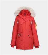 Куртка аляска женская Oxford Simple Red/White Grey