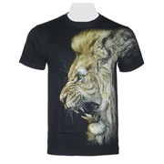 Футболка светящаяся  двусторонняя Lion