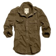 Рубашка Raw Vintage Shirt Brown