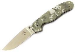 Нож складной туристический Steelclaw Крыса камо