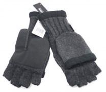 Перчатки-варежки шерсть-акрил-тинсулейт Mutka