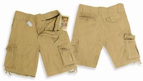 Шорты Vintage Infantry Khaki