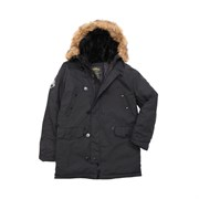 Куртка аляска Altitude Parka Alpha Black