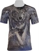 Футболка двусторонняя Волк