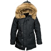 Куртка женская Altitude W Parka Alpha Black