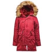 Куртка аляска женская N-3B W Parka Commander Red
