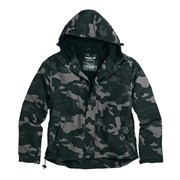 Куртка Windbreaker Zipper Black Camo