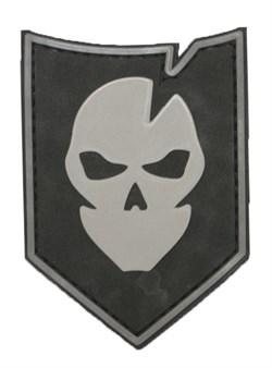 Шеврон на липучке Ghost PVC