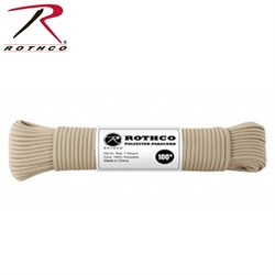 Шнур Paracord 550lb 100 ft Tan